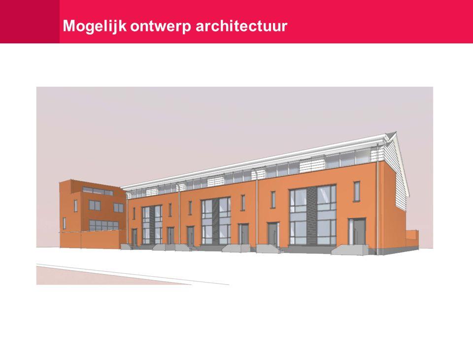 Mogelijk ontwerp architectuur