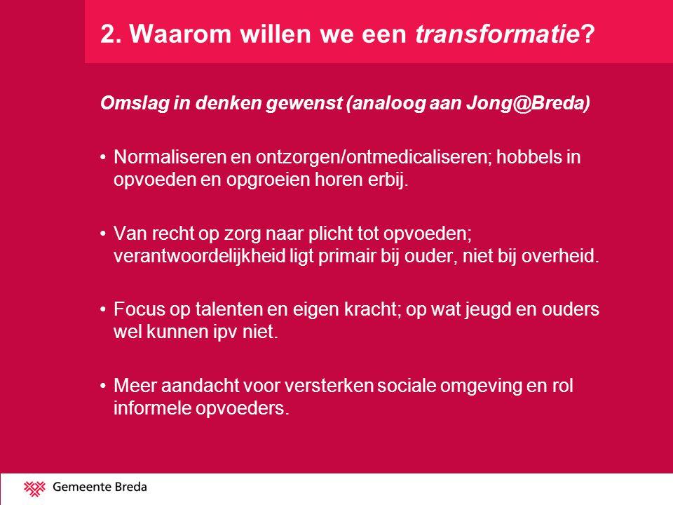 2. Waarom willen we een transformatie
