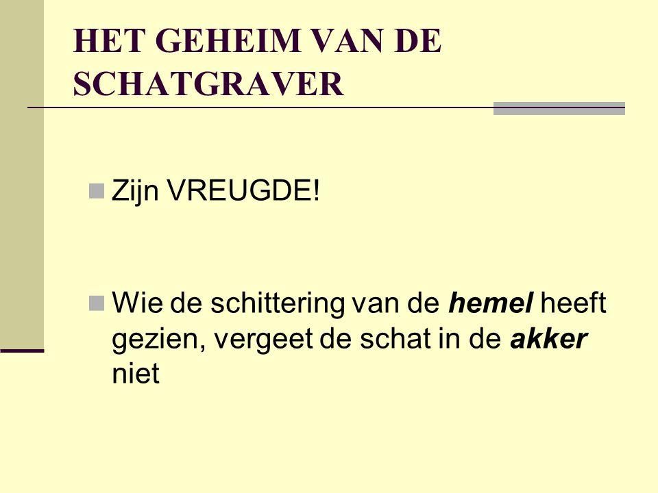 HET GEHEIM VAN DE SCHATGRAVER