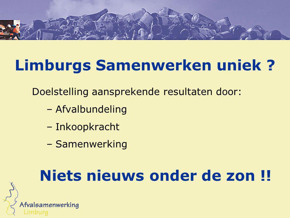Limburgs Samenwerken uniek