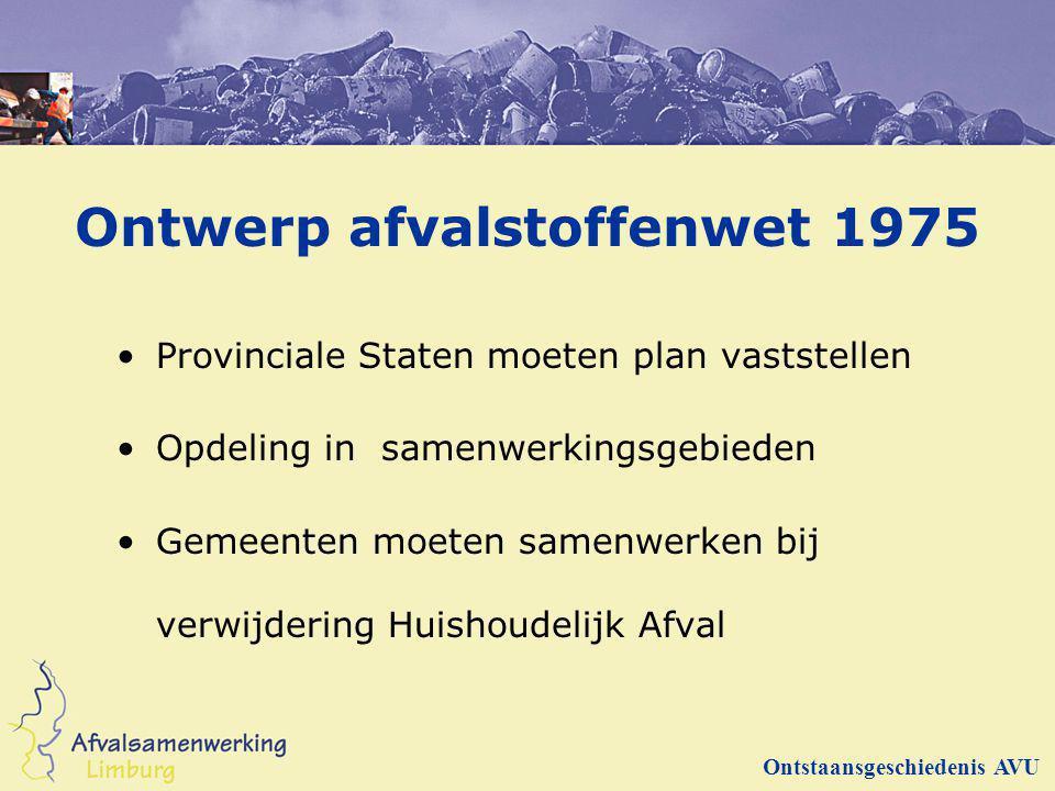 Ontwerp afvalstoffenwet 1975