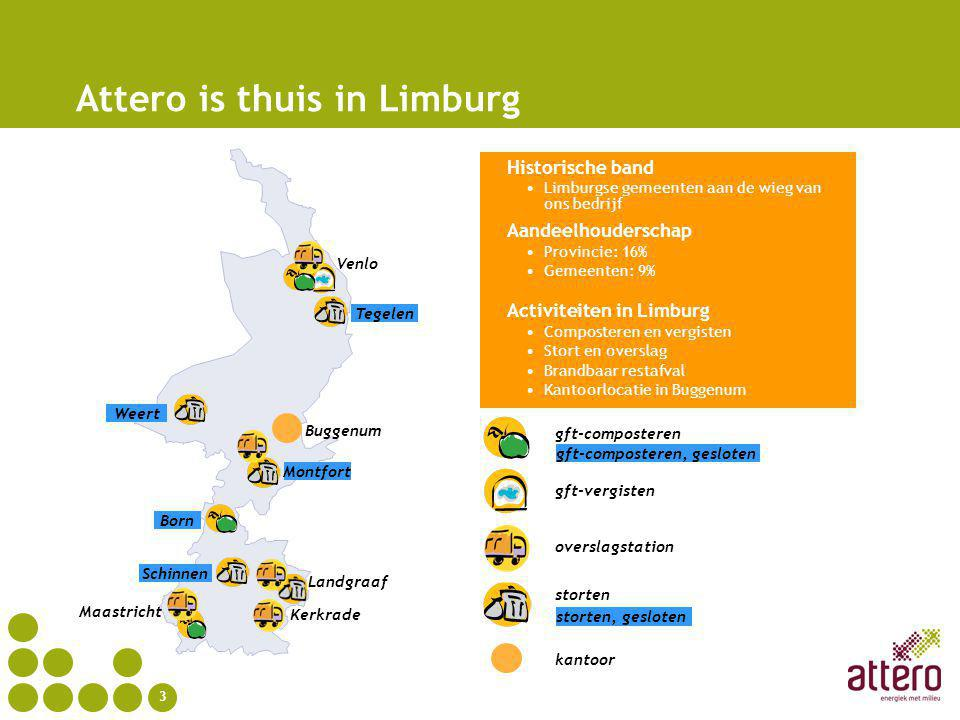 Attero is thuis in Limburg
