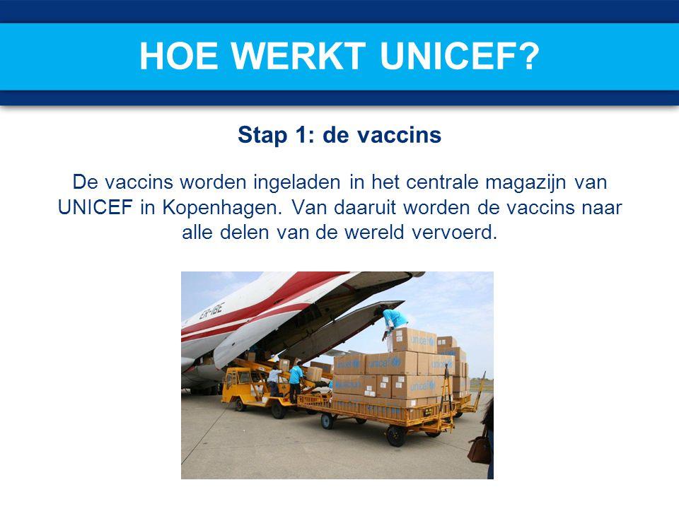 Hoe werkt UNICEF Stap 1: de vaccins