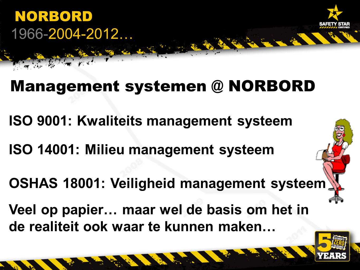 Management systemen @ NORBORD