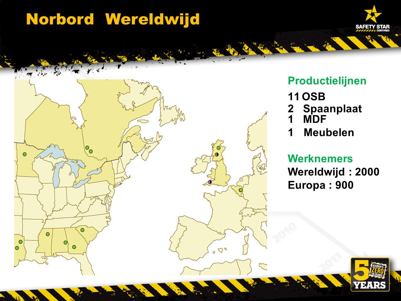 Norbord Wereldwijd Productielijnen OSB 2 Spaanplaat 1 MDF Meubelen