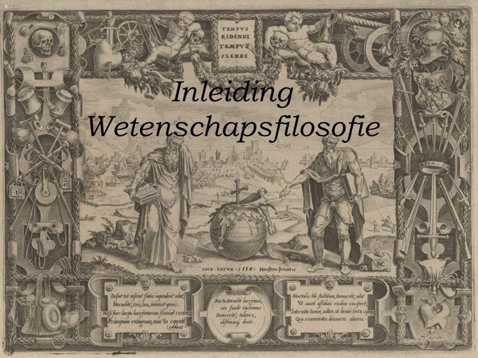 Inleiding Wetenschapsfilosofie