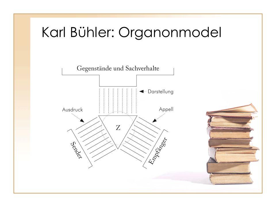 Karl Bühler: Organonmodel