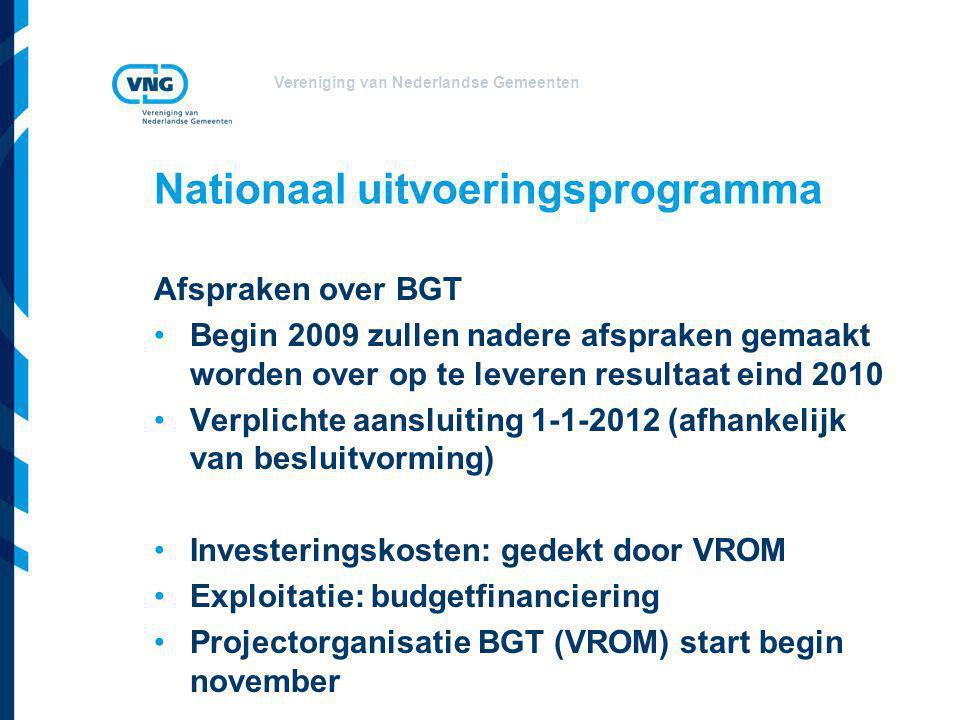 Nationaal uitvoeringsprogramma