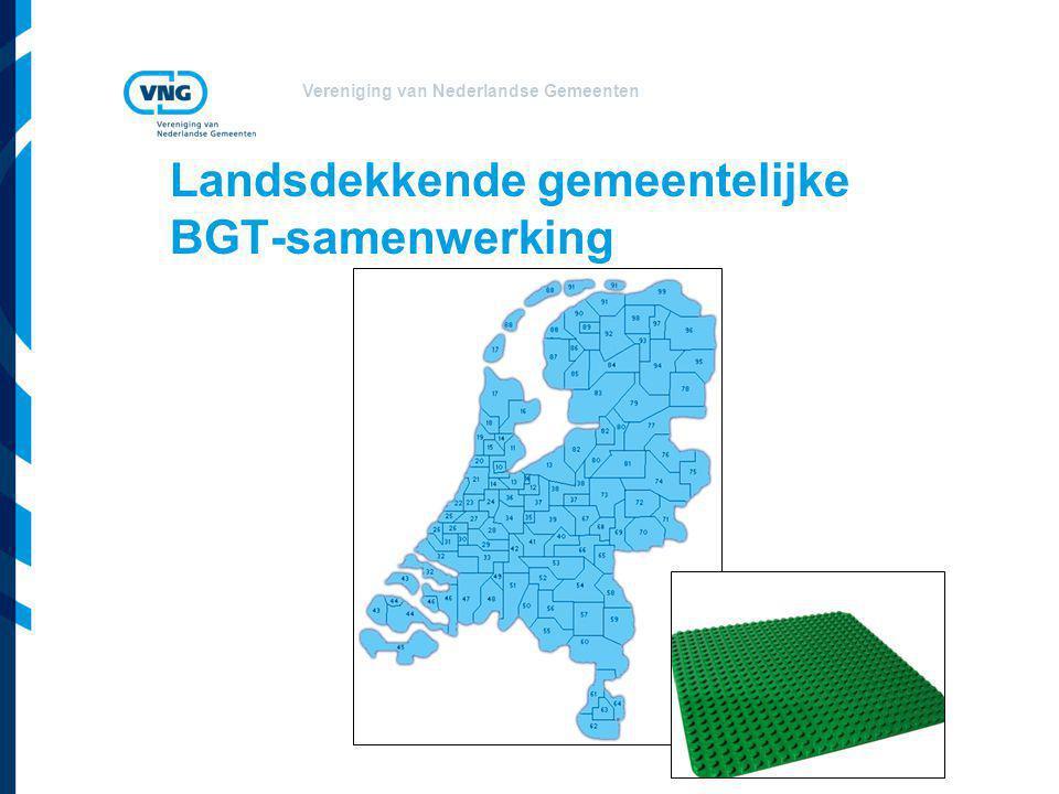 Landsdekkende gemeentelijke BGT-samenwerking