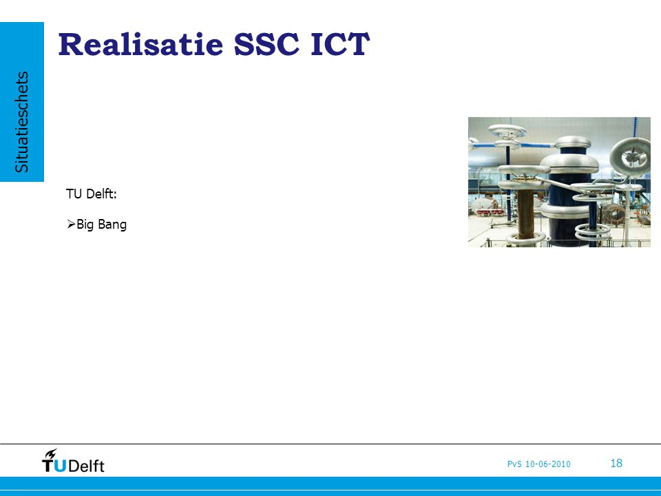 Realisatie SSC ICT Situatieschets TU Delft: Big Bang