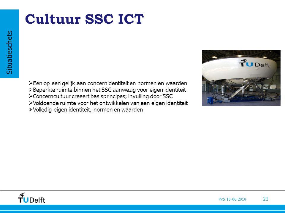 Cultuur SSC ICT Situatieschets