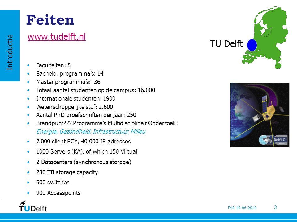Feiten www.tudelft.nl TU Delft Introductie Faculteiten: 8