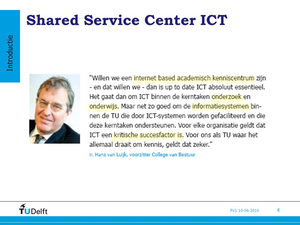 Shared Service Center ICT