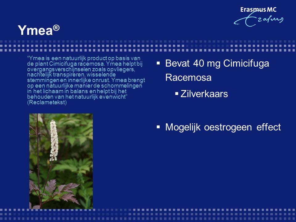 Ymea® Bevat 40 mg Cimicifuga Racemosa Zilverkaars