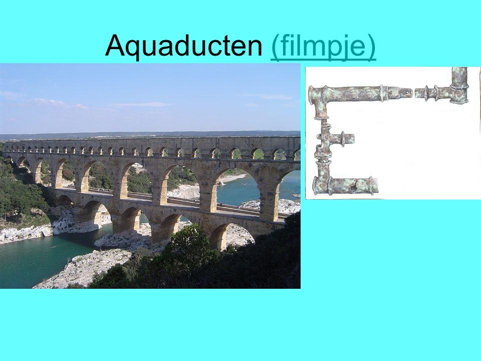 Aquaducten (filmpje) Aquaducten: waterleiding