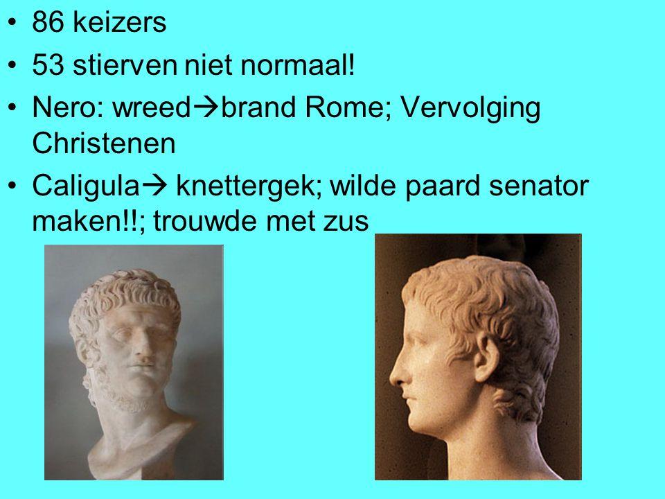 Nero: wreedbrand Rome; Vervolging Christenen