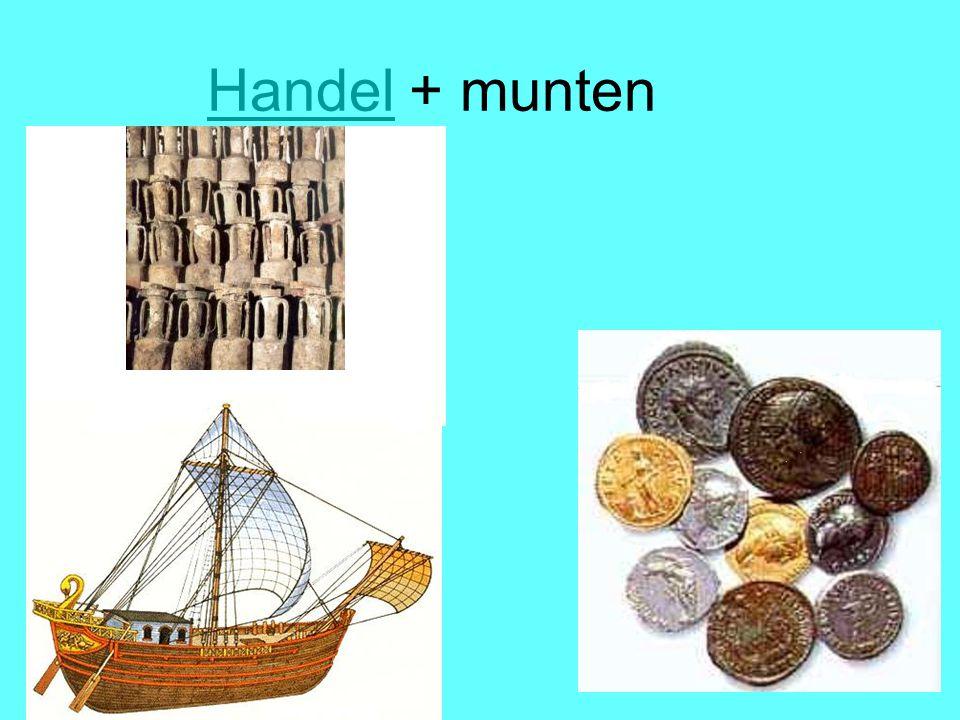 Handel + munten