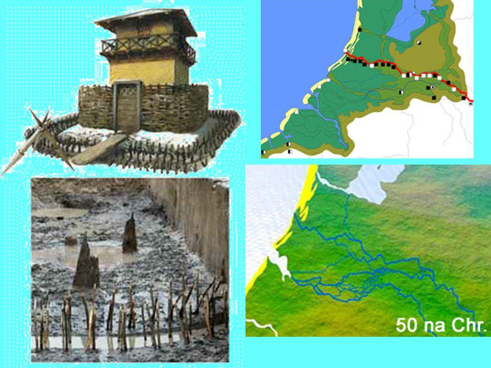 Langs de grenzen werden forten aangelegd, die onderling met wegen verbonden waren. Zo konden ze elkaar snel te hulp komen.