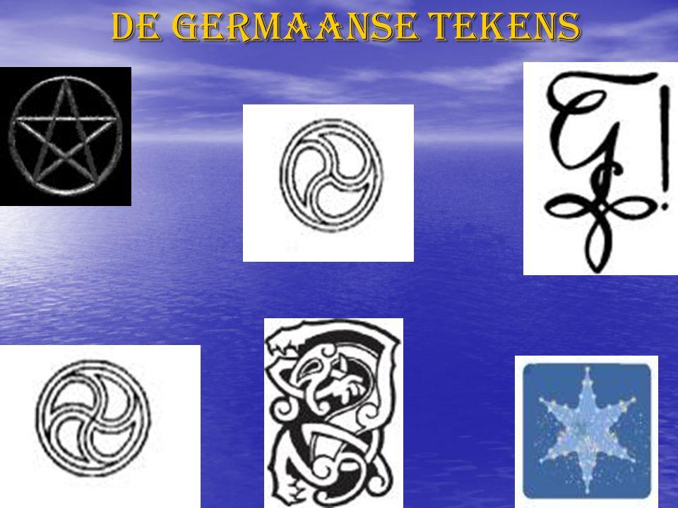 De Germaanse tekens
