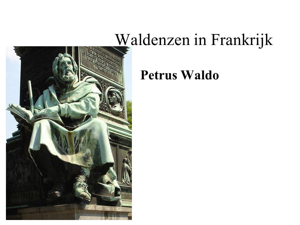 Waldenzen in Frankrijk