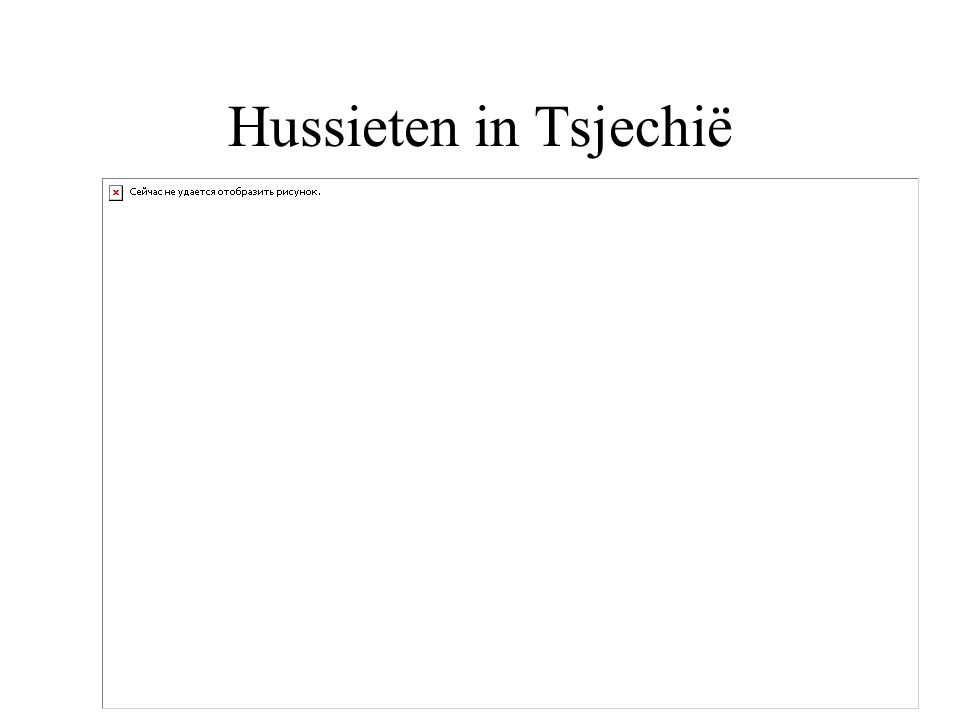 Hussieten in Tsjechië