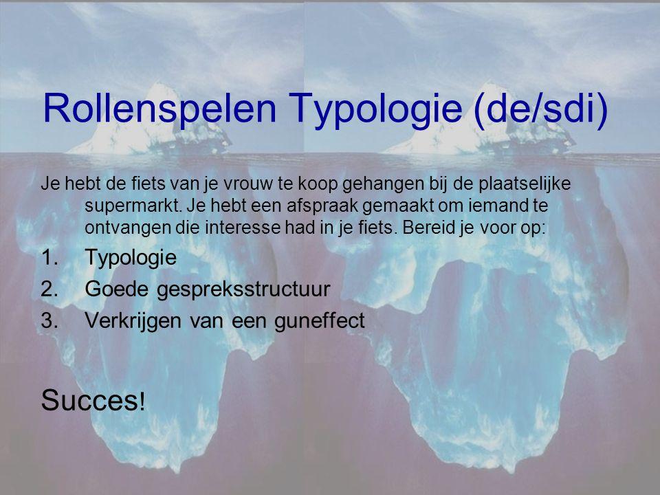 Rollenspelen Typologie (de/sdi)