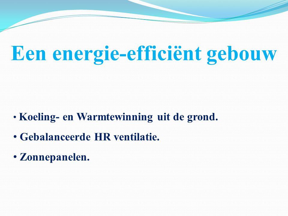 Een energie-efficiënt gebouw