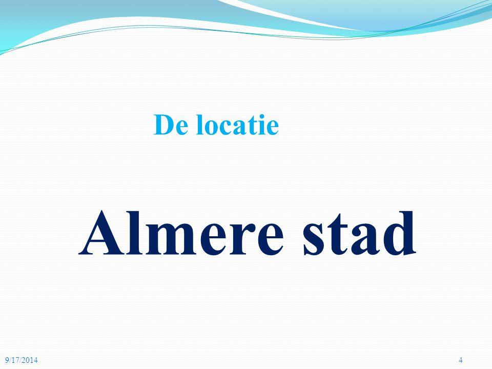 De locatie Almere stad 4/5/2017 4