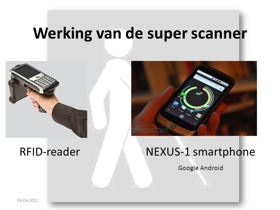 Werking van de super scanner