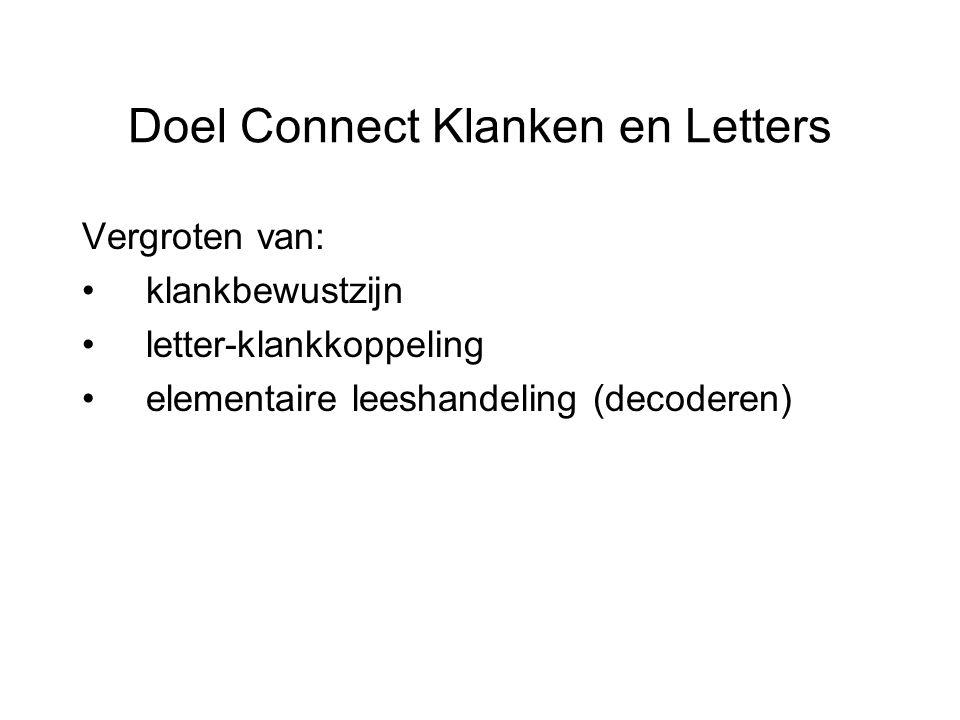 Doel Connect Klanken en Letters