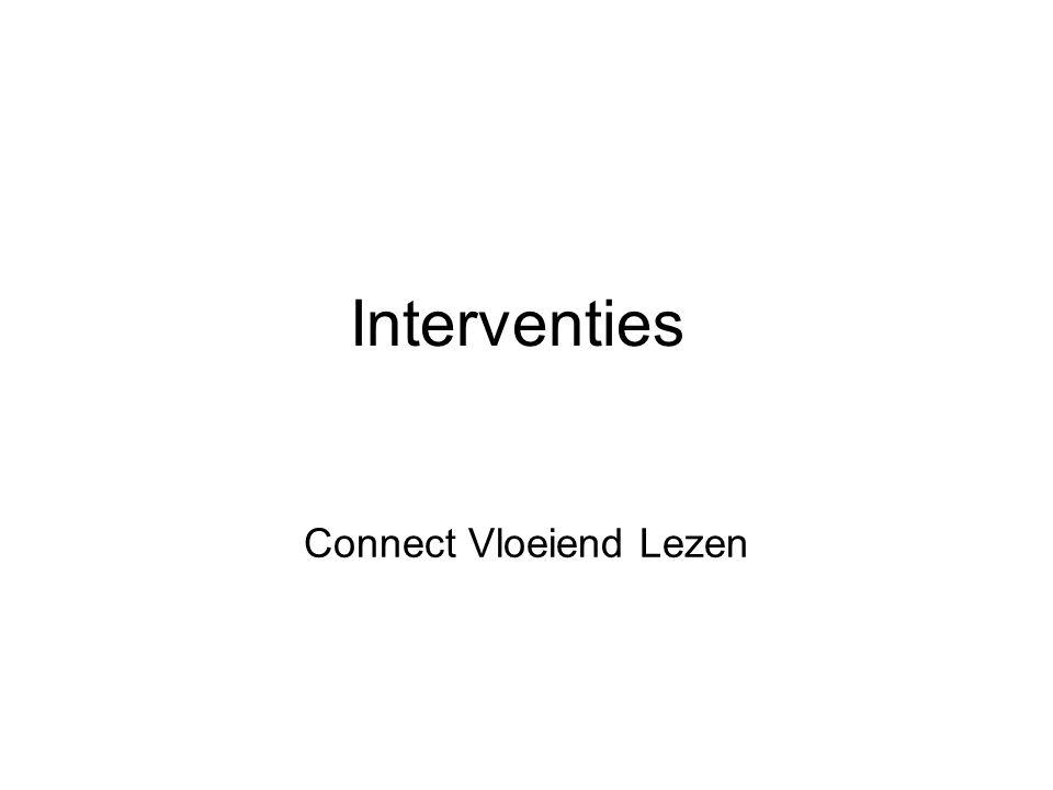 Connect Vloeiend Lezen