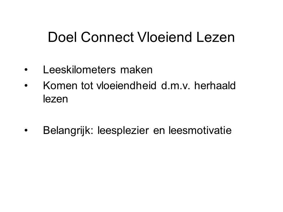 Doel Connect Vloeiend Lezen