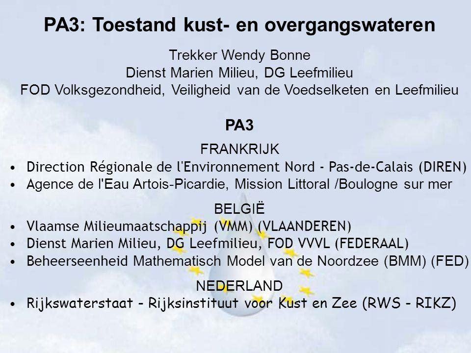 PA3: Toestand kust- en overgangswateren