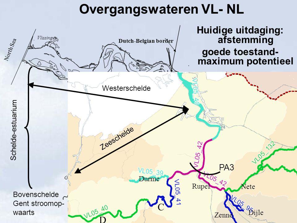 Overgangswateren VL- NL