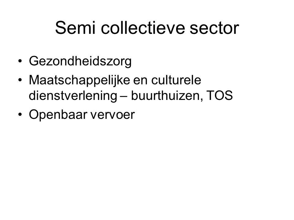 Semi collectieve sector