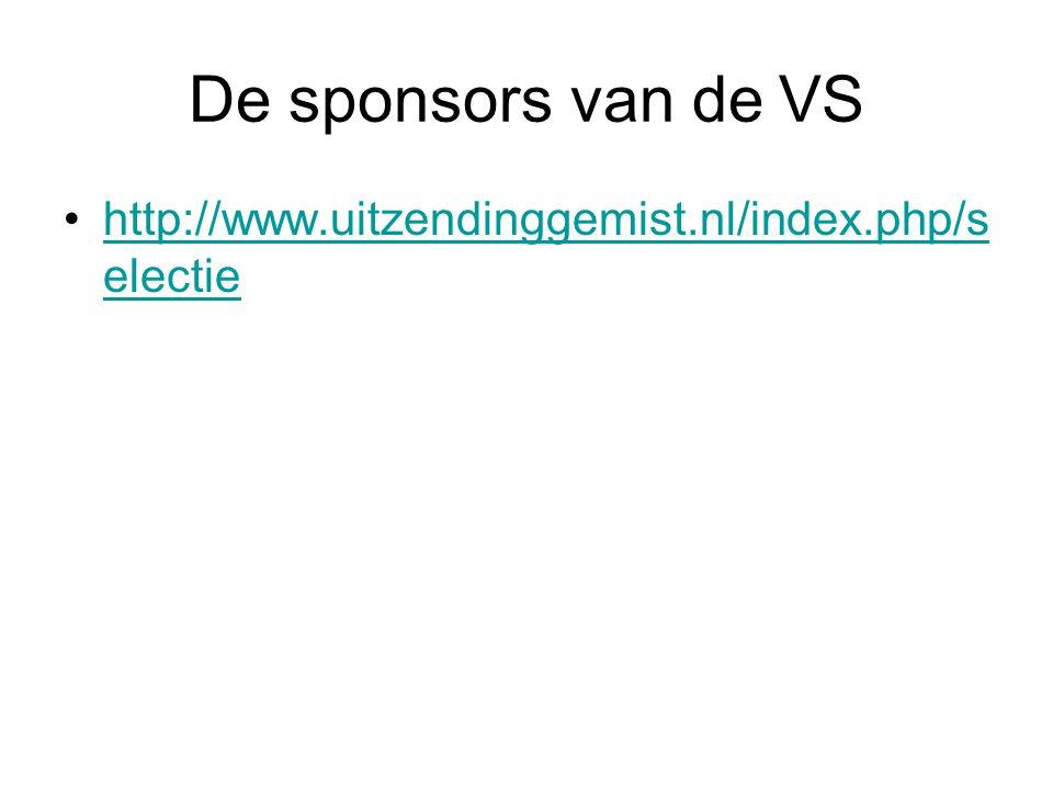 De sponsors van de VS http://www.uitzendinggemist.nl/index.php/selectie