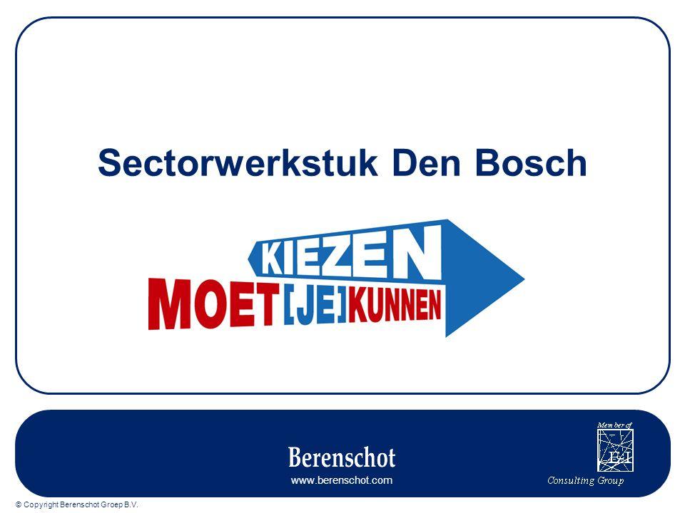 Sectorwerkstuk Den Bosch