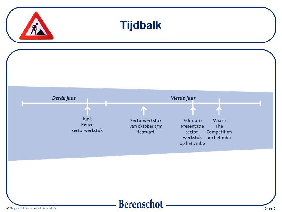 Tijdbalk