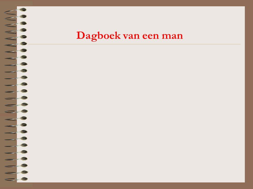 Dagboek van een man