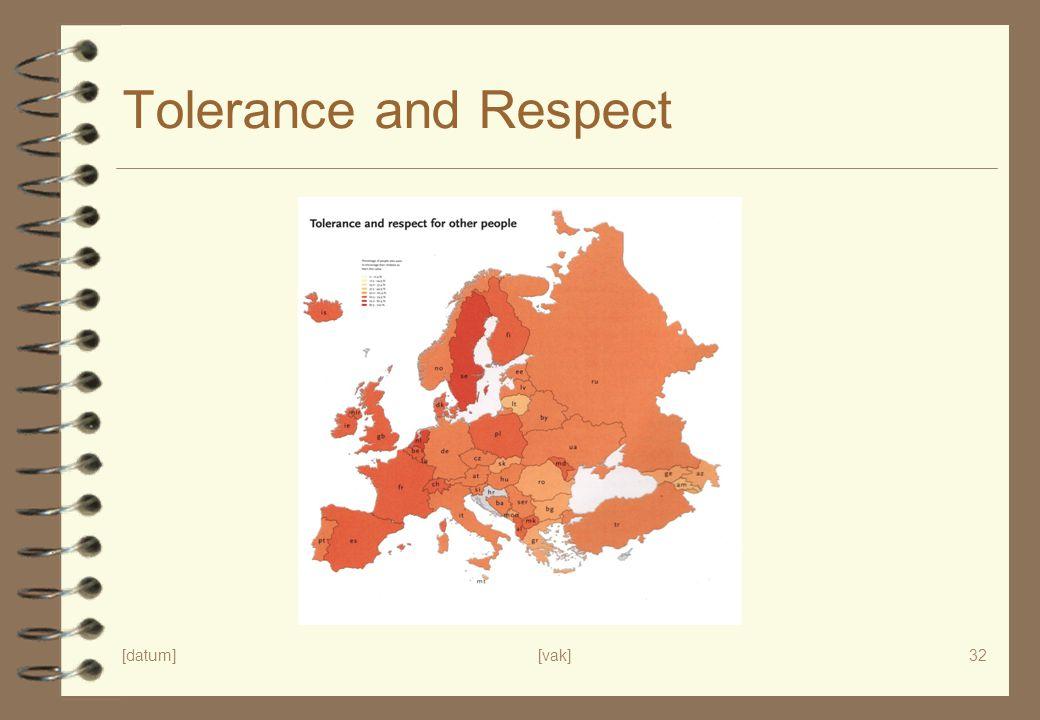 Tolerance and Respect p. 39 tolerance and respect