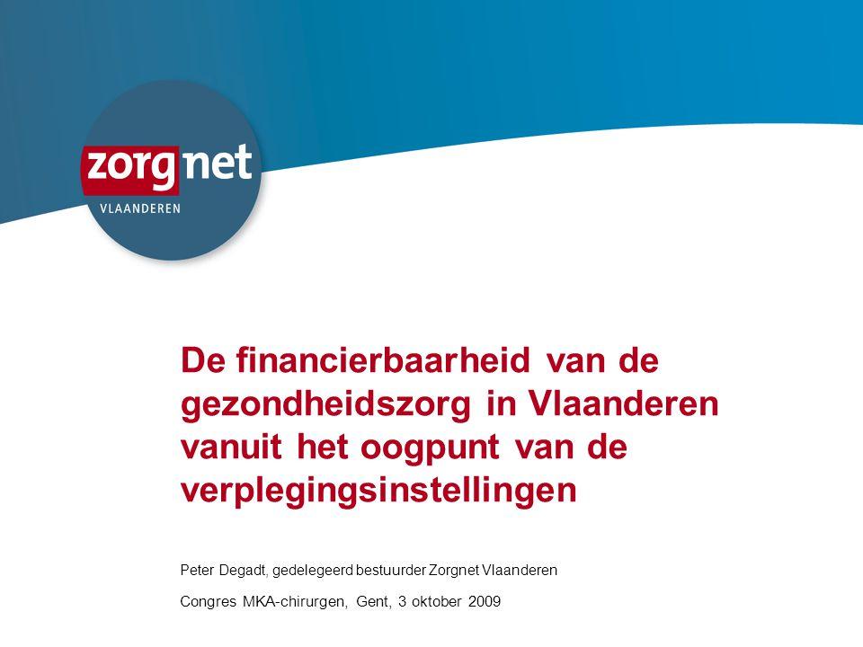 De financierbaarheid van de gezondheidszorg in Vlaanderen vanuit het oogpunt van de verplegingsinstellingen