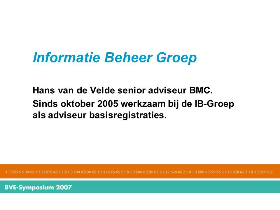 Informatie Beheer Groep