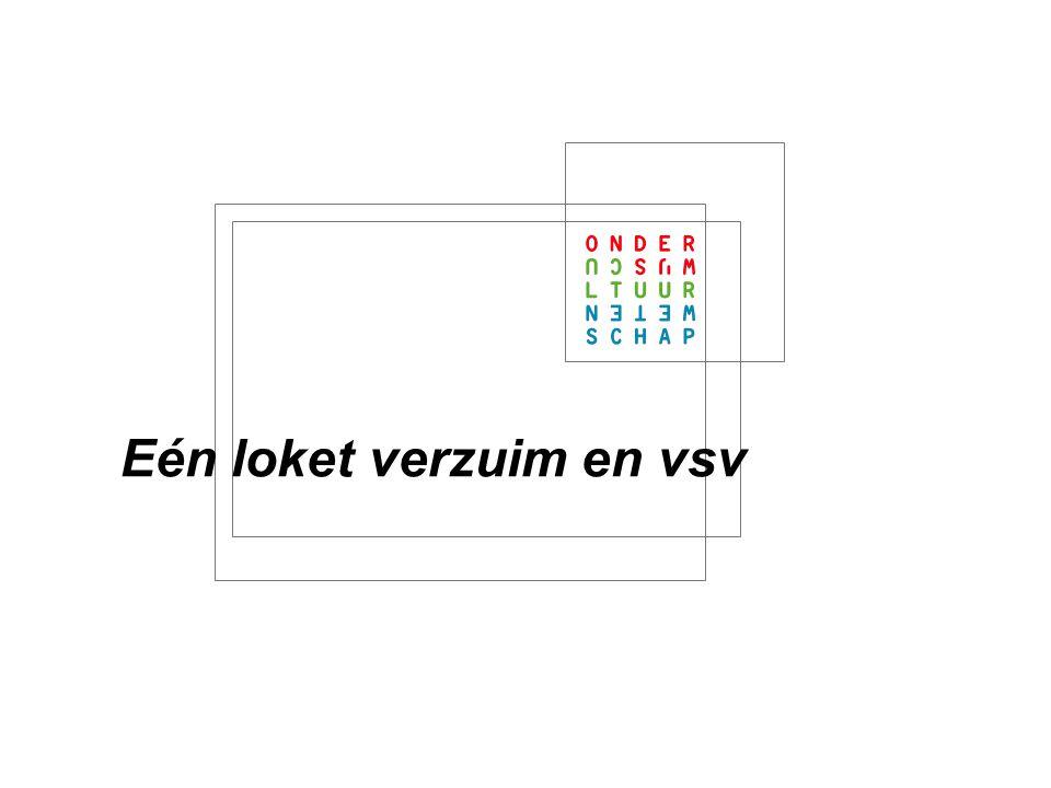 Informatievoorziening en VSV: