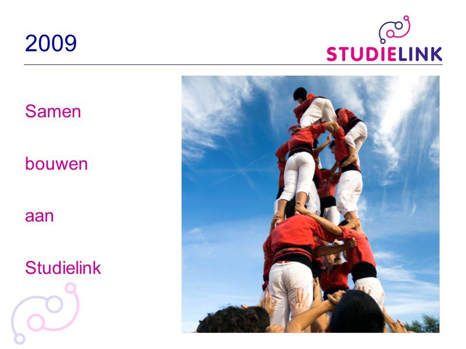 2009 Samen bouwen aan Studielink