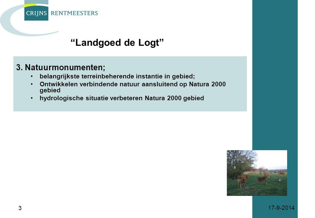 Landgoed de Logt 3. Natuurmonumenten;