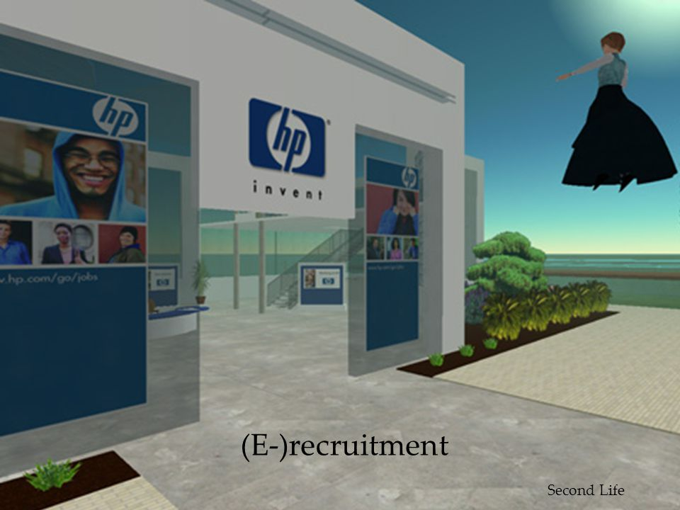 (E-)recruitment Second Life