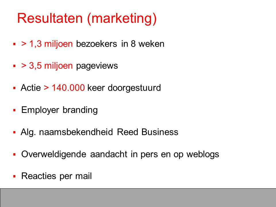 Resultaten (marketing)