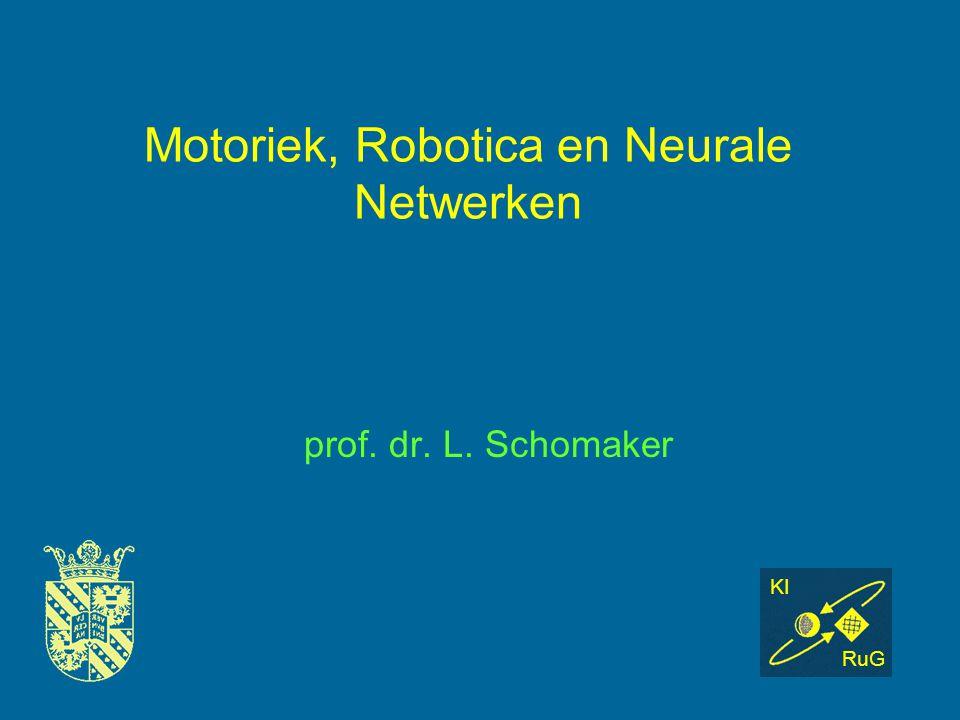 Motoriek, Robotica en Neurale Netwerken