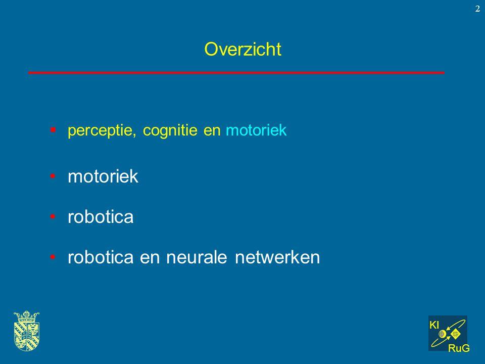 robotica en neurale netwerken