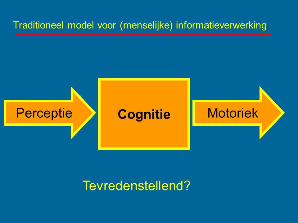 Traditioneel model voor (menselijke) informatieverwerking
